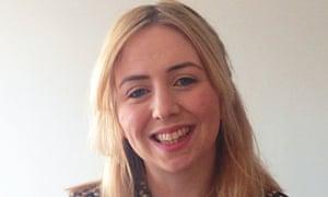 Collette McColgan, 24, who has arthritis