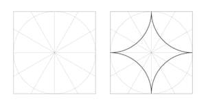Muslim rule and compass: the magic of Islamic geometric