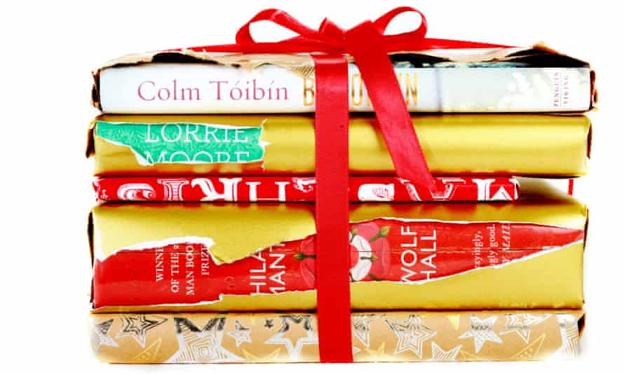 Gift-wrapped books