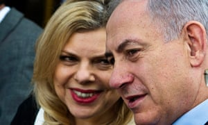 Benjamin Netanyahu and his wife Sara