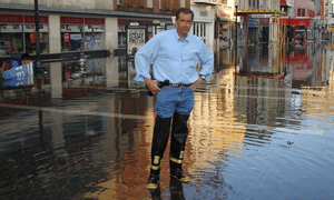 Brian Williams in New Orleans