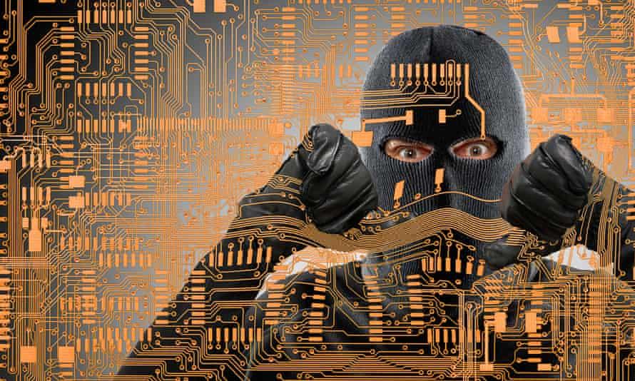 hacking illo