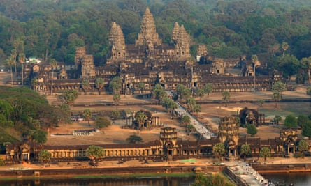 The Angkor Wat temple