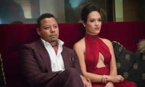 Terrence Howard (pictured with Grace Gealey) plays ailing hip-hop mogul Lucious Lyon.