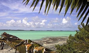 FILE PHOTO OF TURTLE COVE ON INDIAN OCEAN ISLAND OF DIEGO GARCIA.