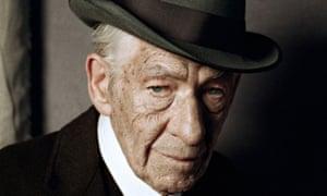 Ian McKellen in Mr Holmes.