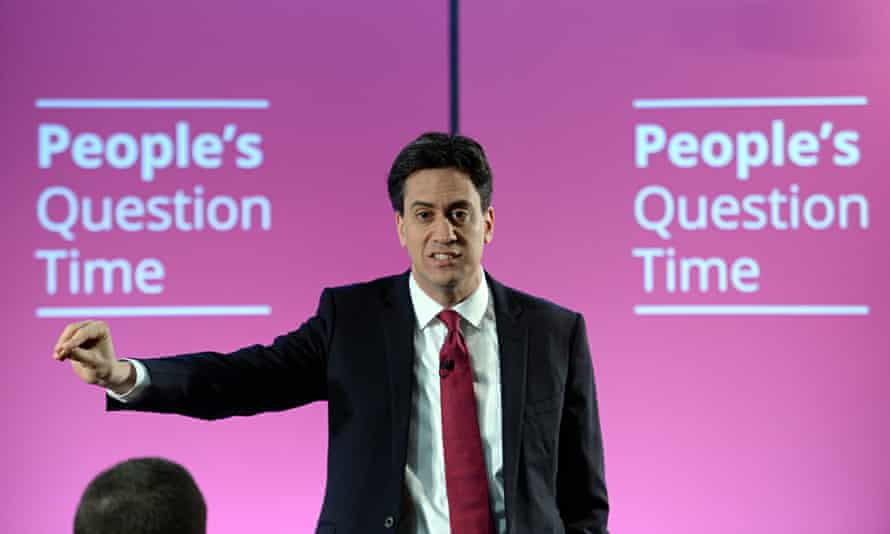 Ed Miliband holds People's Question Time