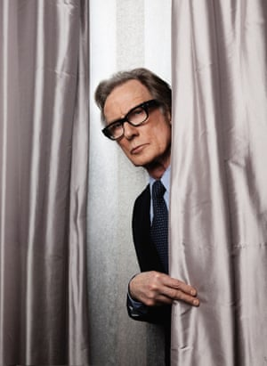 Bill Nighy photographed by Alex Lake Jan 2015 For Observer Magazine.