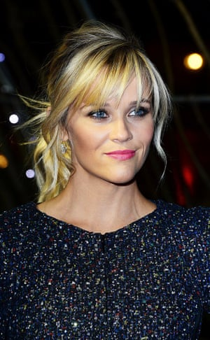 Reese Witherspoon, nominated for best leading actress for her performance in Wild