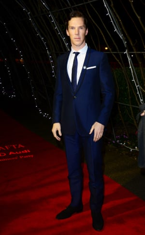Benedict Cumberbatch, nominated for Leading Actor for his performance in The Imitation Game