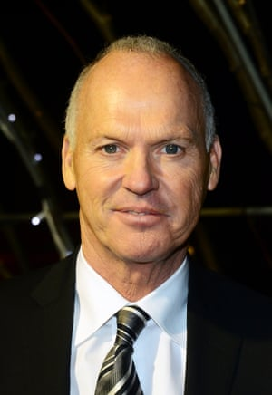 Michael Keaton, in the running for best leading actor for his performance in Birdman