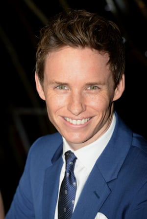 Eddie Redmayne, nominated for best leading actor for The Theory of Everything