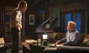 Bob Odenkirk as Saul Goodman and Michael McKean as Chuck in Better Call Saul.