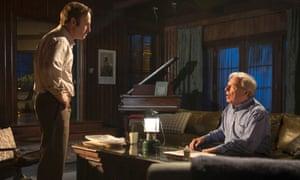 Bob Odenkirk as Saul Goodma and Michael McKean as Chuck