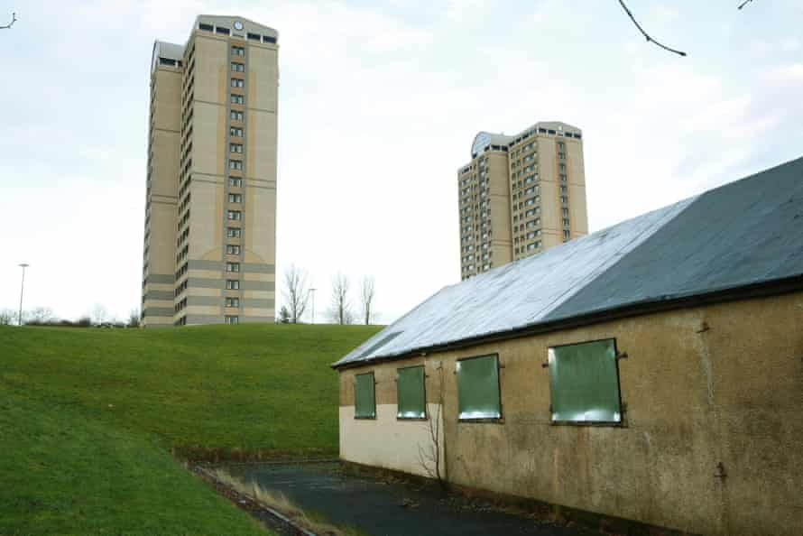 Cranhill was built in the early 1950s on the outskirts of Glasgow to alleviate the post-war housing shortage.