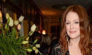 Julianne Moore at a Baftas party on 7 February.