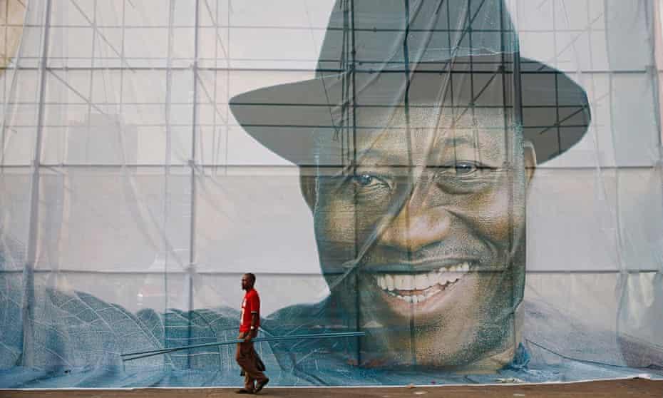 Goodluck Jonathan poster