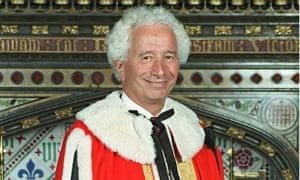 Lord Gavron in 1999.