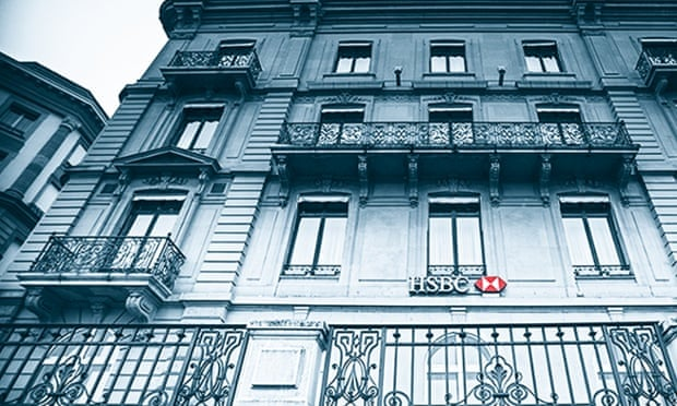 HSBC's Swiss bank in Geneva