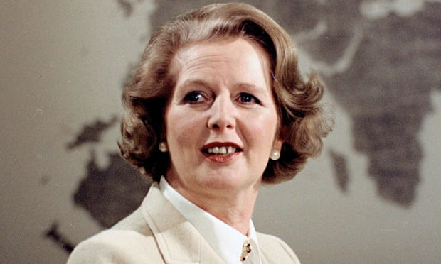 Margaret Thatcher in the late 1970s
