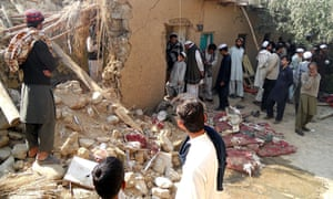 Islamic seminary hit by drone strike, Pakistan
