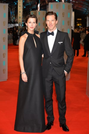 Benedict Cumberbatch and fiance Sophie Hunter