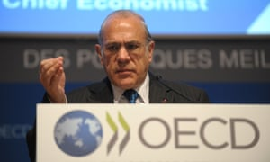 OECD secretary-general Angel Gurría will present the thinktank's Going for Growth report in Istanbul
