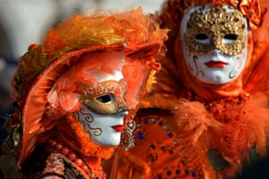 Masks have played an important role in Venice's history, with people wearing masks for large portions of the year from as early as the 13th century.