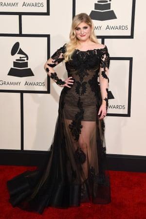 Meghan Trainor at Grammys