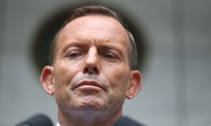 The Prime Minister Tony Abbott at a press conference in Parliament House Canberra this afternoon, Monday 9th February 2015 Photograph by Mike Bowers for The Guardian Australia