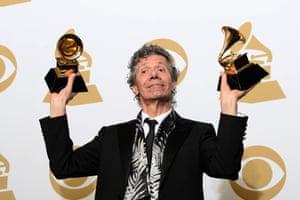 Chick Corea holds the awards for best improvised jazz solo (for Fingerprints) and best jazz instrumental album (for Trilogy).
