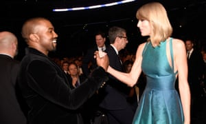 Kanye West and Taylor Swift new best mates