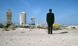 Architect Robert Venturi in Las Vegas, 1966.
