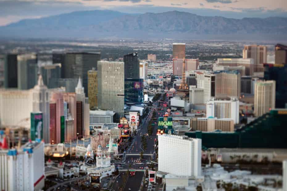 Las Vegas Strip by day.