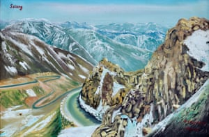 Salang by Majeed, from The Mountains of Majeed by Edmund Clark.