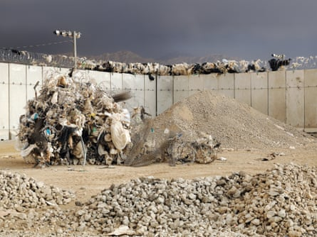 At Bagram airbase from The Mountains of Majeed by Edmund Clark.
