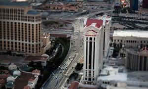Caesars Palace hotel-casino.