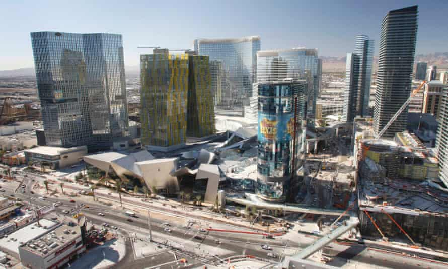 The Strip's mixed-use CityCenter complex broke casino design convention.