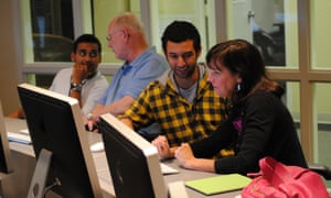 Our in-house training focuses on peer to peer learning