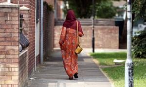 A Muslim woman in Cardiff