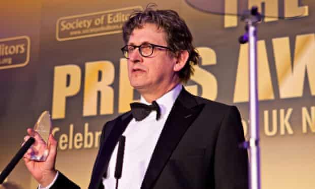 Alan Rusbridger Press Awards