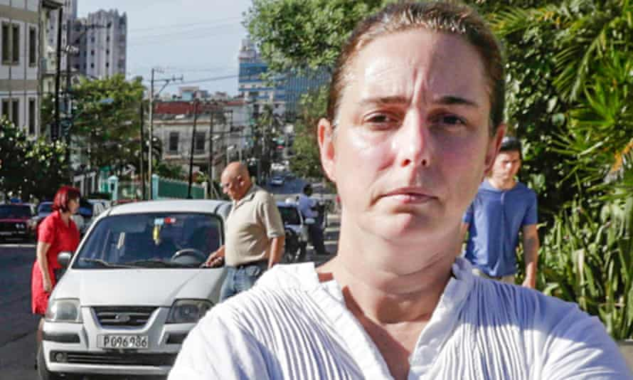 Cuban performance artist Tania Bruguera: detained three times. Photograph: Adalberto Roque/Getty Ima