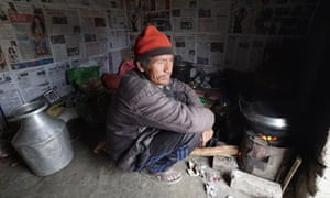 Mahila Lama, 46, has worked at Bhramhayani Mahabir brick factory for 11 years. According to Lama, if he leaves during the six month brick-making season, the middleman who recruited him will force him to pay 24% interest on the loan, and the owner of the factory will demand he pay for the rent of the land where he makes the bricks. Lama can afford neither.    For the son of a poor man, this is how it is,    he says. Bricks from the Bhramhayani Mahabir factory are used in a   50million project to upgrade Kathmandu's international airport.