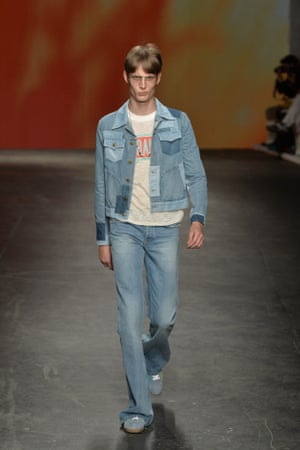 Into The Blue How Denim Went Haute For Spring Summer 2015