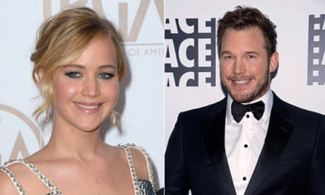3ffaf0cbc2 Jennifer Lawrence to be paid  8m more than Chris Pratt for Passengers