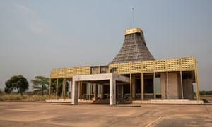 Gbadolite: the VIP arrivals terminal at Mobutu's airport.