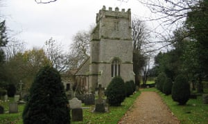 Country Diary : The 11th century St Olave's church in Gatcombe on the Isle of Wight.