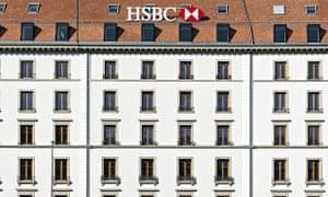 The HSBC offices in Geneva, Switzerland