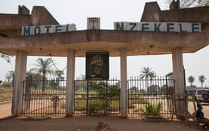 Gbadolite: the Motel Nzekele, built by Mobutu