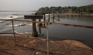 Gbadolite: an unfinished bridge in Gbadolite